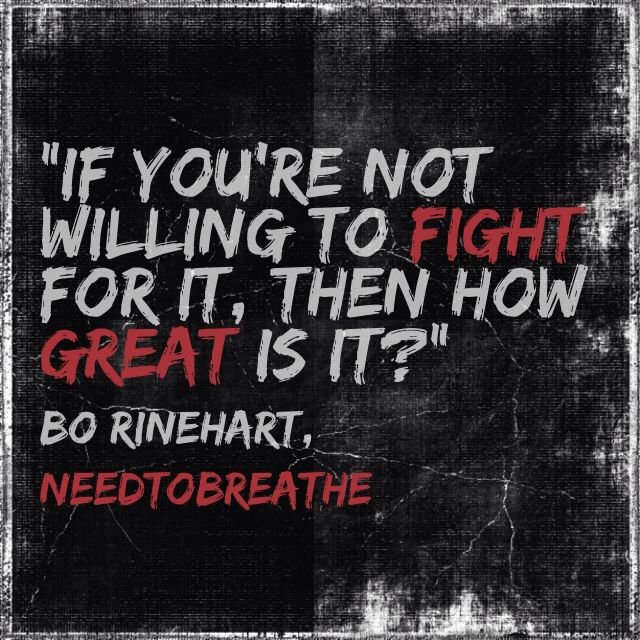 Bo Rinehart, Needtobreathe