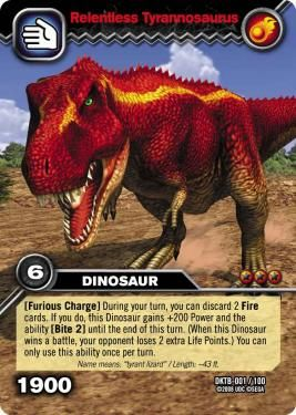 TCGPlayer.com EQ2 Resource - Dinosaur King adds Colossal Team Battle