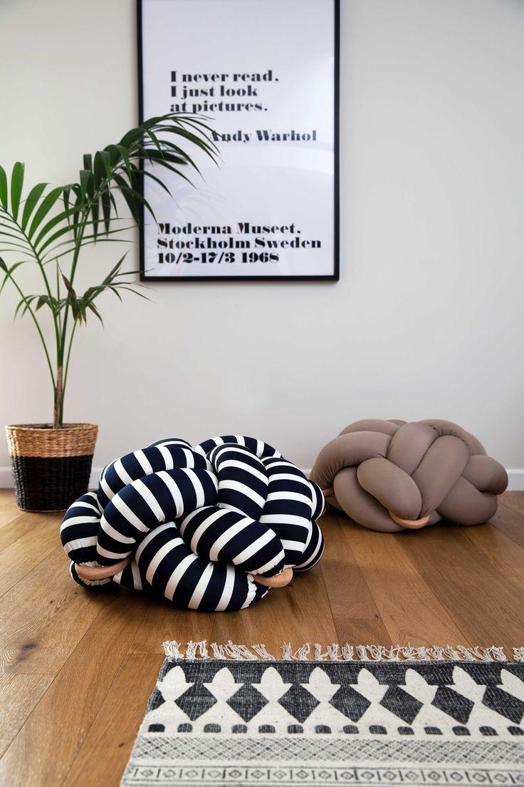 knot cushions by knots studio  www.knots-studio.com