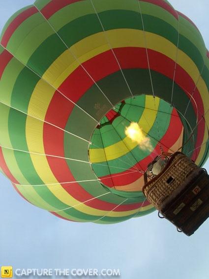 Parramatta Park hot air balloon #CaptureTheCover entry - by Douglas in Sydney's Parramatta & Blacktown Region