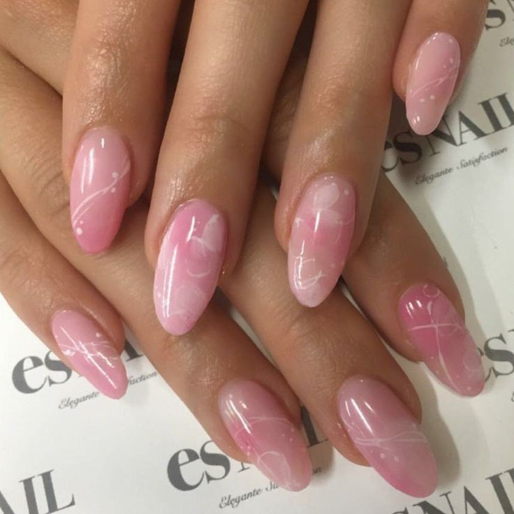 Rose #Quarz #Nägel. #Oval #Nails. #Acrylnägel. ## AcrylicNailsShort, – Nails