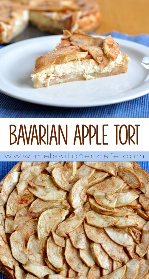 Bavarian Apple Torte. A fancy shmancy name for an absolutely stunning and delicious dessert!