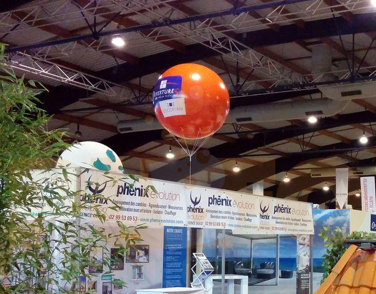 Ballon pour le stand de d coferm au salon habitat de for Salon de l habitat lorient