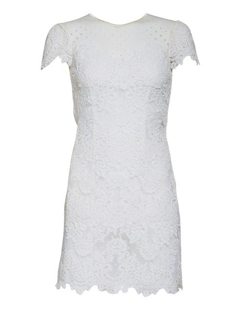 Paris Dress Ivory via Ida Sjostedt. Click on the image to see more!