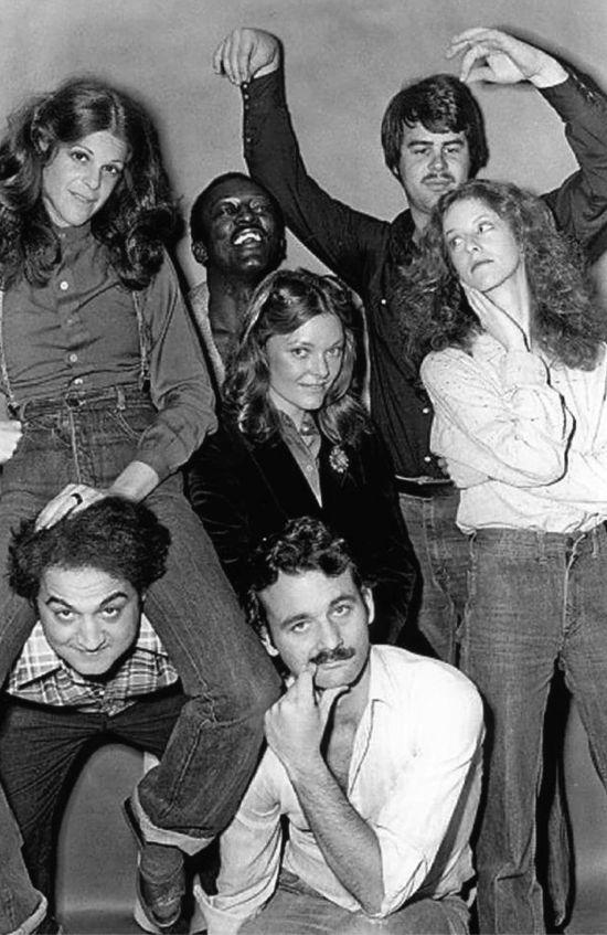Gilda Radner, Garret Morris, Dan Akroyd, Jane Curtain, Lorraine Newman, John Belushi and Bill Murry | take me back |