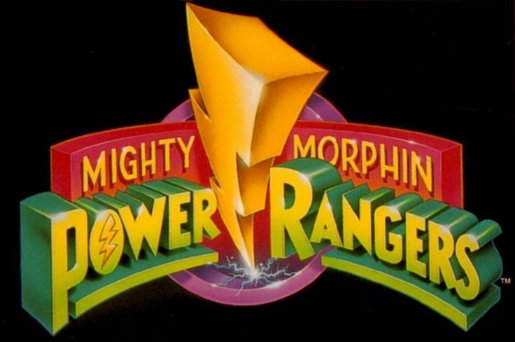 Mighty Morphin Power Rangers logo My son and I use to watch this everyday! He liked the Blue Ranger and I liked the Green/White Ranger
