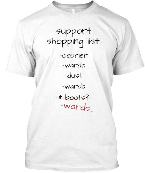 Support Shopping List - Dota 2 #dota #gamer #refresher