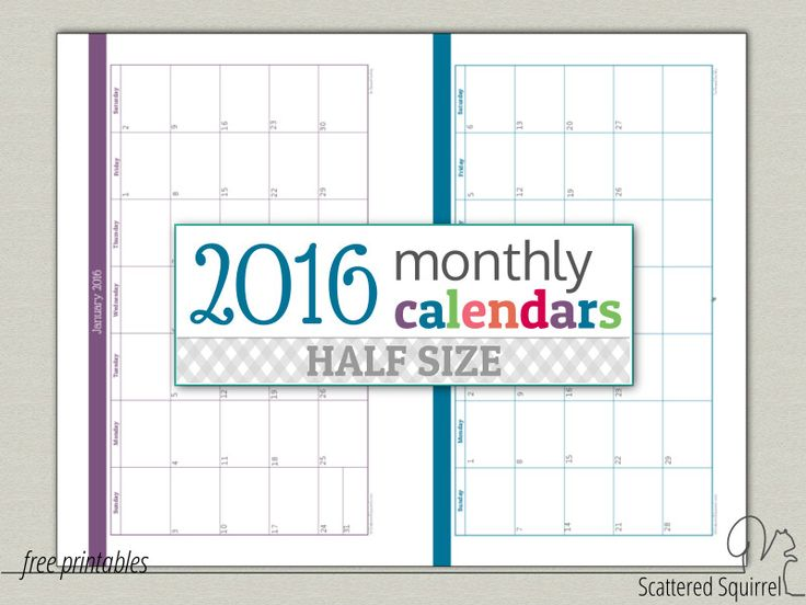 Best 25+ Monthly calendars ideas on Pinterest Free printable - blank calendar template