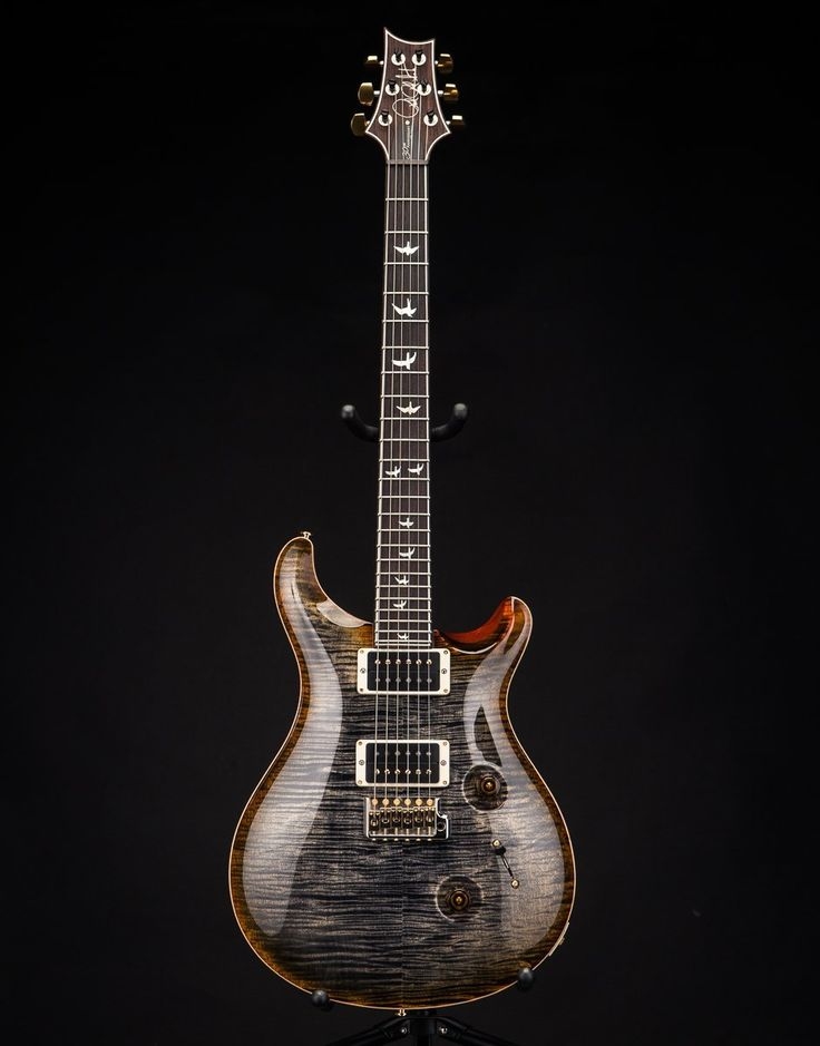 PRS 30th Anniversary Custom 24 Final Run Burnt Maple Leaf