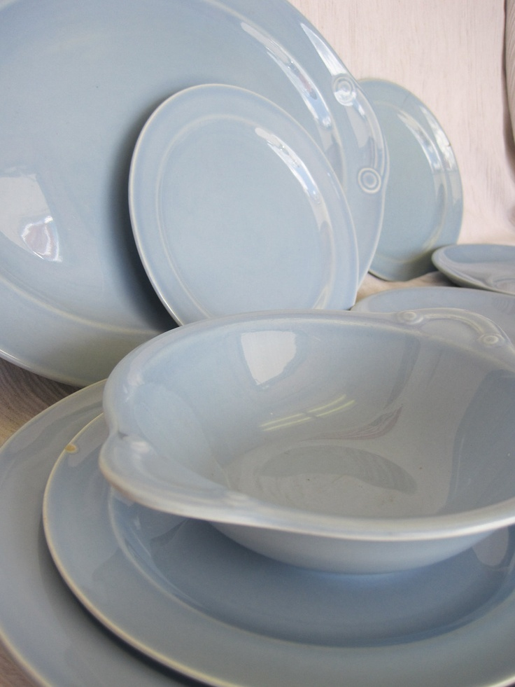 Blue Lu-Ray Dish Pieces & 17 best LuRay Dishes images on Pinterest   Dinnerware Dishes and ...