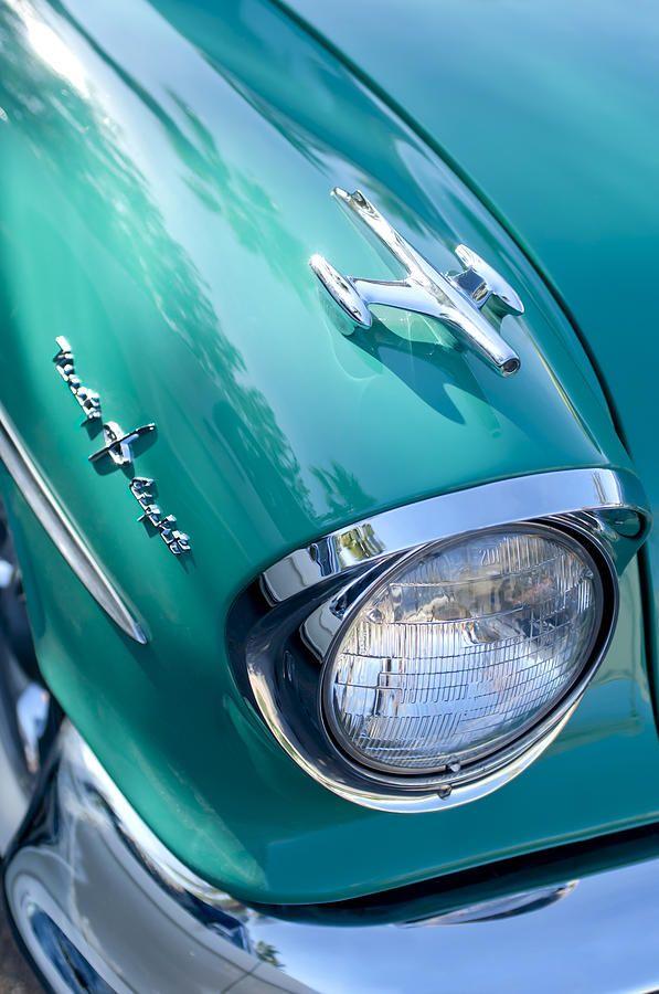 ♂ Masculine & elegance car details 1957 Oldsmobile 98 Starfire Convertible Fender Spear