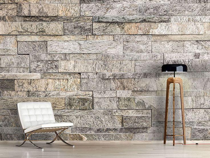 Besondere Tapeten G?nstig : Tapete Steinoptik auf Pinterest Betonwand, Steinoptik und Tapeten