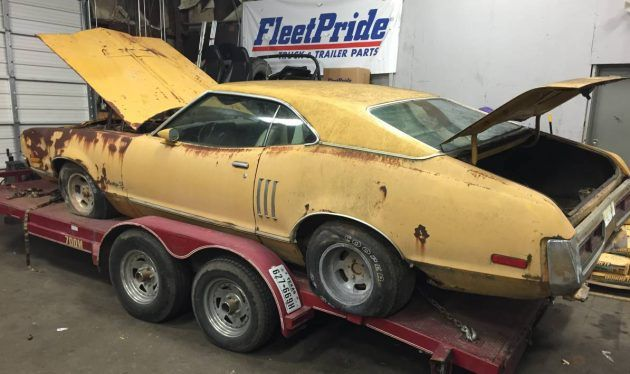 Malaise Muscle: 1973 Mercury Montego GT #MuscleCars, #Projects #Mercury - https://barnfinds.com/malaise-muscle-1973-mercury-montego-gt/