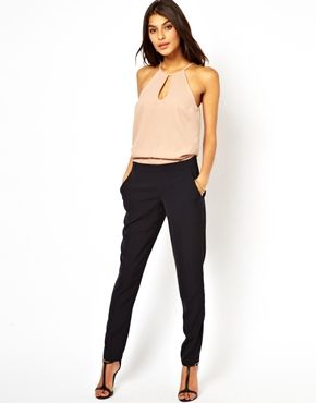 Image 1 ofASOS Jumpsuit with Halter