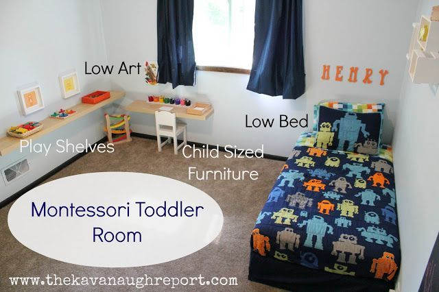 7 Inspiring Kid Room Color Options For Your Little Ones: Best 25+ Montessori Toddler Bedroom Ideas On Pinterest