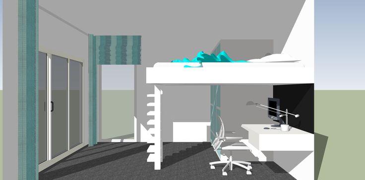 SketchUp Bedroom