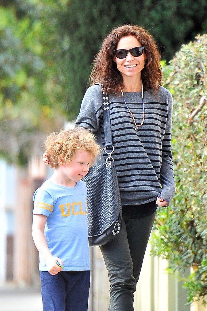 REPORT: Minnie Driver Gets Restraining Order Against Neighbor to Protect Her Son