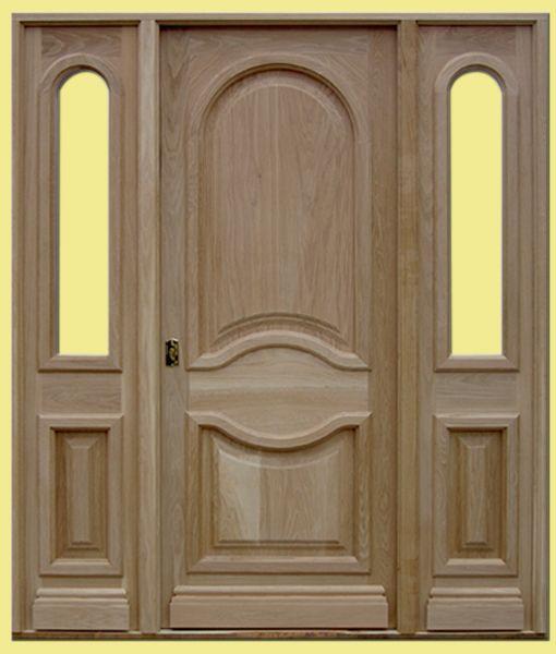 Best 25 puertas de madera modernas ideas on pinterest for Puertas madera maciza