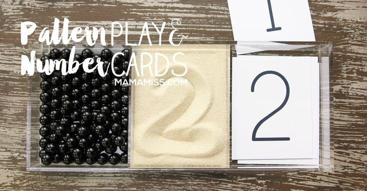 Pattern Play and Number Cards