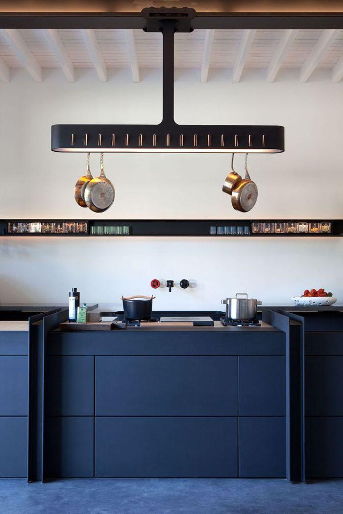 Château de la Resle: A New Design Hotel | Kitchen designed by Roderick Vos