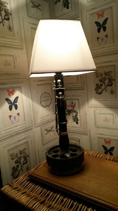 Lampe de chevet personnalisée / bedside lamp