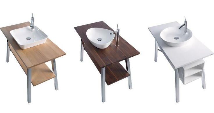 Duravit's Cape Cod line of bathroom washbasins in solid wood and warm ceramics. Available: http://thinkworly.com