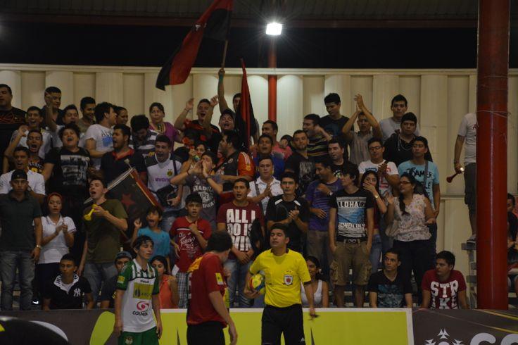 La hinchada de Cúcuta demostró que es una de las mejores en el #FútbolRevolucionado