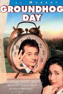 This film would be a 10 if it wasn't for Andie MacDowell!  Phil relives groundhog day over and over again and again until he gets it right!