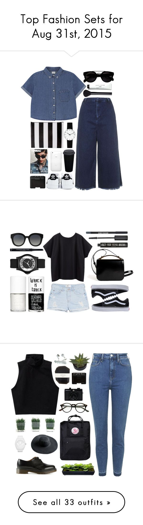 """""""Top Fashion Sets for Aug 31st, 2015"""" by polyvore ❤ liked on Polyvore featuring Topshop, adidas, DaBaGirl, Rosendahl, NARS Cosmetics, Bobbi Brown Cosmetics, La Garçonne Moderne, Givenchy, Dolce&Gabbana and Vans"""