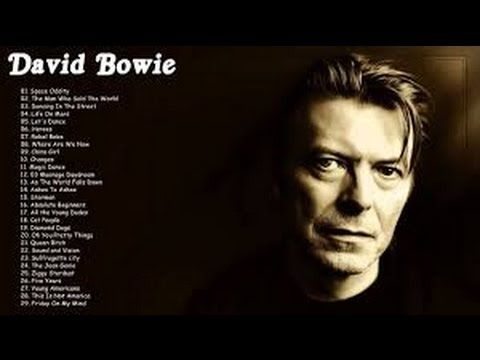 David Bowie Greatest Hits ✫ Top 30 The Best of David Bowie 2016 HD