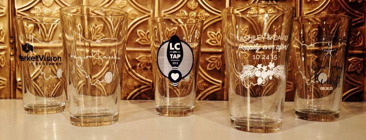 rhinegeist brewery custom pint glass the clubhouse