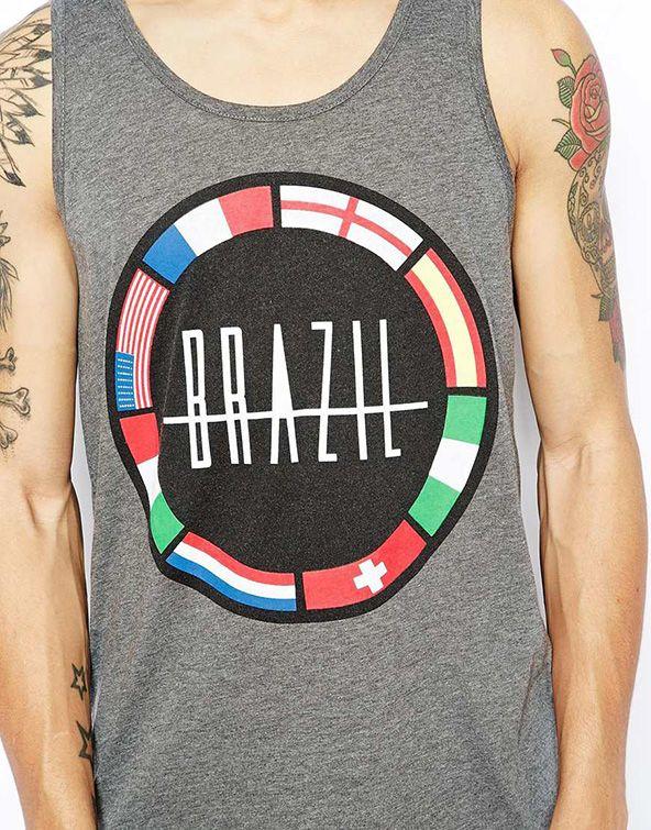 Brazil Printed Vest #vest #summer2014 #summerwardrobe