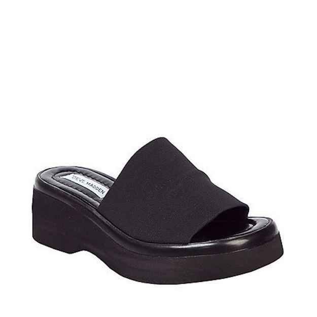 Steve Madden Stretchy Platform Sandals — I swear everyone had this pair of  shoes