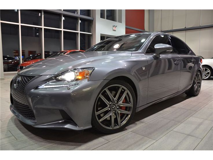 2014 Lexus IS F-Sport Series 3 With Only 39.341 km! – Oakville