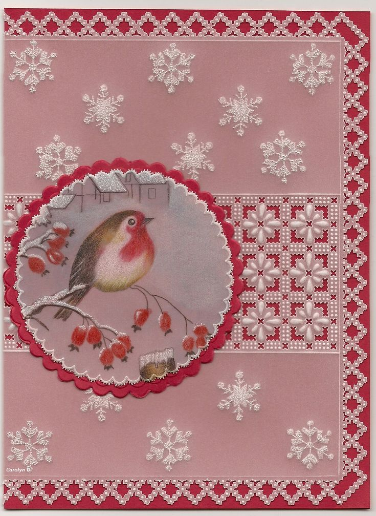 By Carolyn C. Christmas Robin