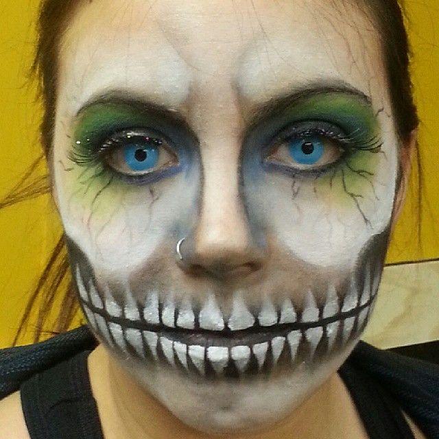 Halloween makeup by Teresa Heath https://www.facebook.com/pnclartst