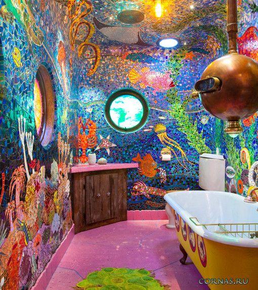 Дизайн ванной комнаты 4 кв м красивые фото (14)