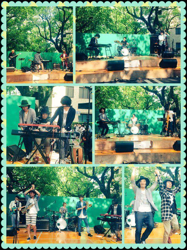 楽しい時間は早い(*´Д`*)めちゃくちゃ気持ちの良い楠並木通りのステージでADAM at・fox capture plan・Schroeder-Headz・JABBER LOOPとインストバンドの豪華なライブを楽しんできましたよ♬