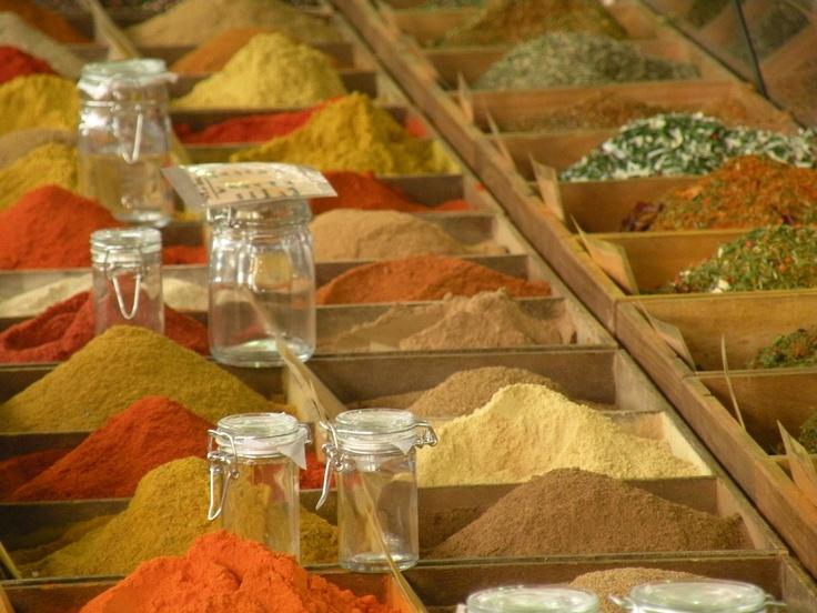 Le spezie fanno parte dei profumi e colori dalla Provenza.