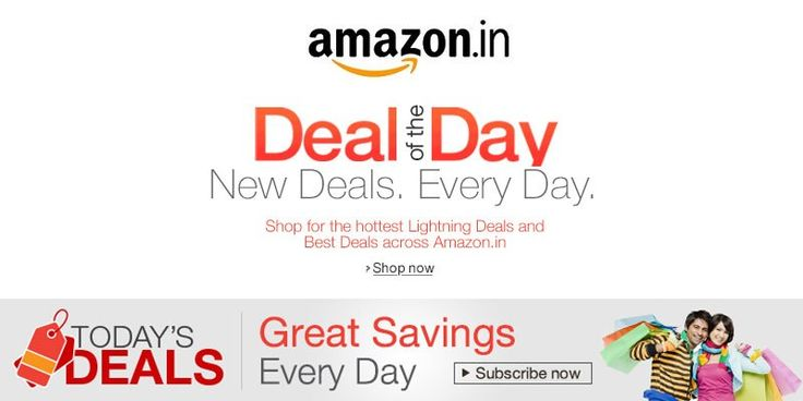 Amazon india Today's Deals