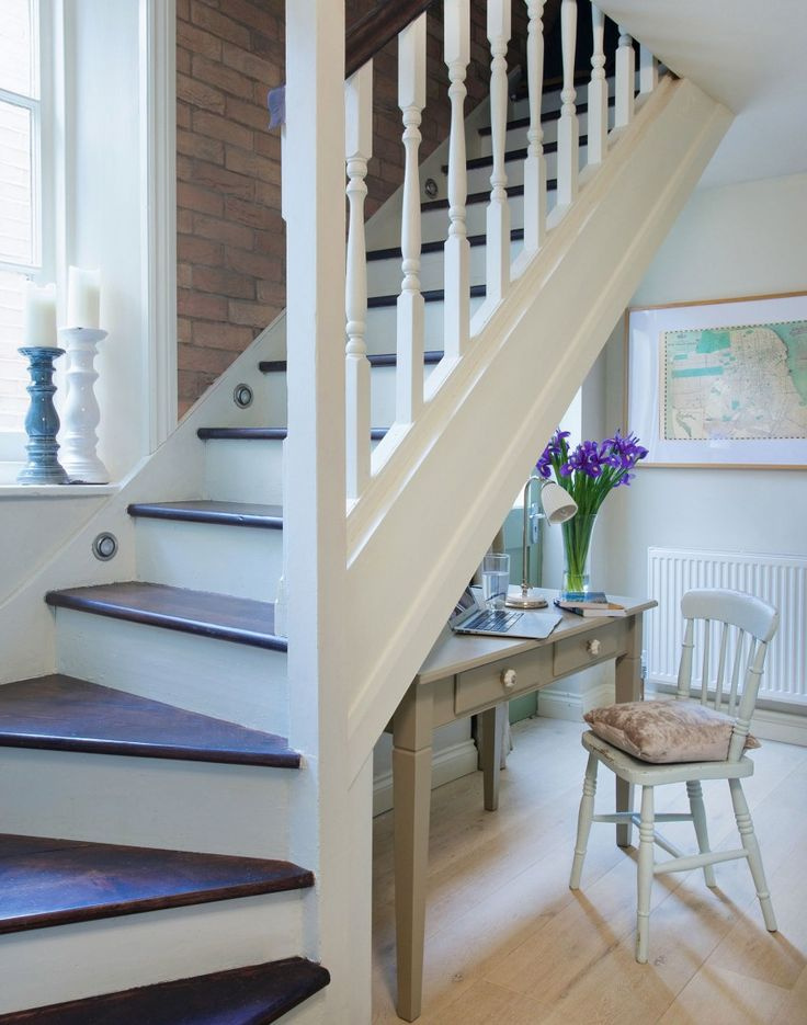 Perfect Pale Flooring And White Woodwork Gives This Traditional Hallway A Light And  Airy Feel