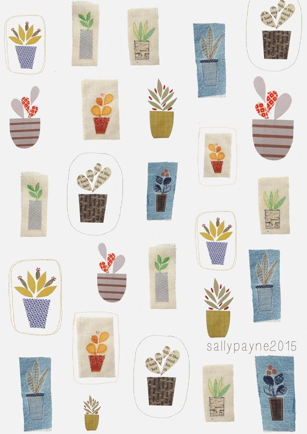 Sally Payne illustration and surface pattern