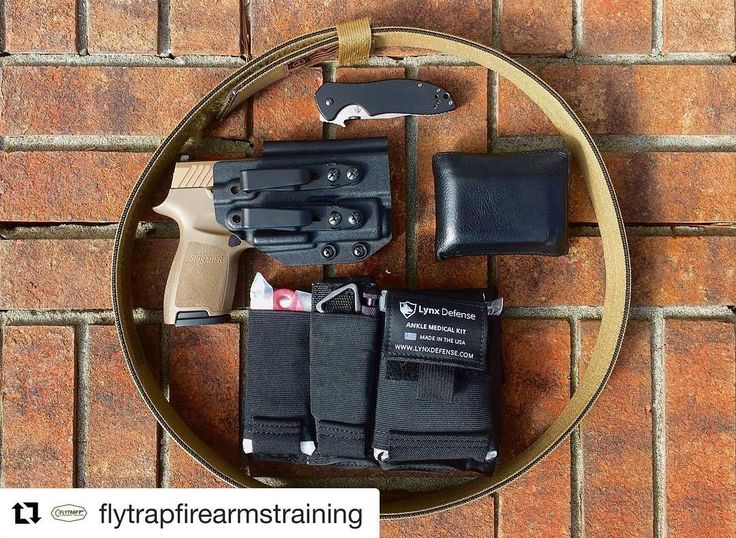 #Repost @flytrapfirearmstraining (@get_repost)  Spent 34 hours wearing @lynxdefense ankle med kit this weekend to really get a good feel for it. After you figure out exactly how you want it positioned on your leg it rides securely and comfortably. I really like it a lot. It starts in my car usually unless I'm on foot all day or at the range. I will be doing a more on depth video review soon but I highly recommend it.  Gun: @sigsauerinc P320 Compact 9mm Holster: @savageholsters  Belt…