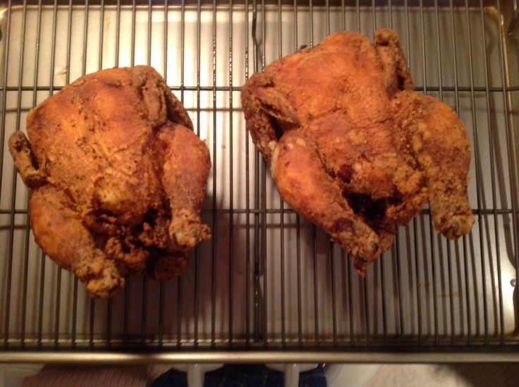 Deep Fried Cornish Hens....my family loved them ...