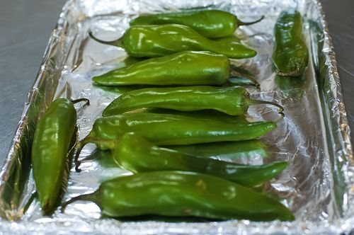 How To…Roast Green Chilies. August in the Southwest means Hatch Green Chiles!