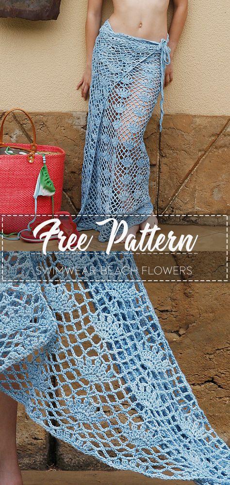 Swimwear Beach Flowers – Free Pattern