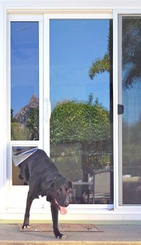 The Ideal Fast Fit dog door for sliding glass door is a dog door for slider that will make your life better.