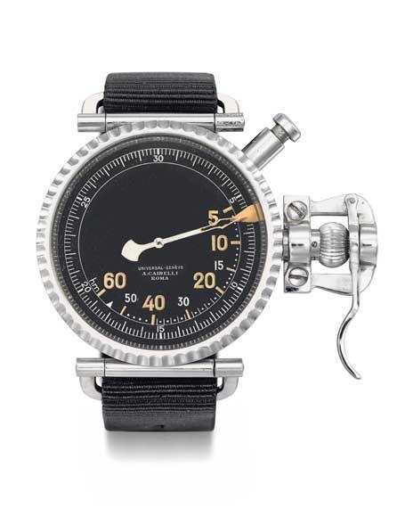 Universal Genève bombardier's watch