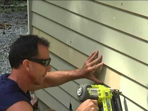 How To Replace Wood Siding The Home Depot - YouTube