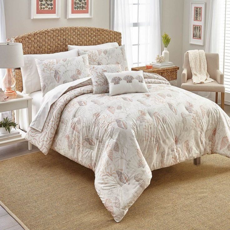 Nautical Bedroom Sets One Bedroom Apartment Design Images Of Bedroom Sets Tile Accent Wall Bedroom: 1000+ Ideas About Coral Comforter Set On Pinterest